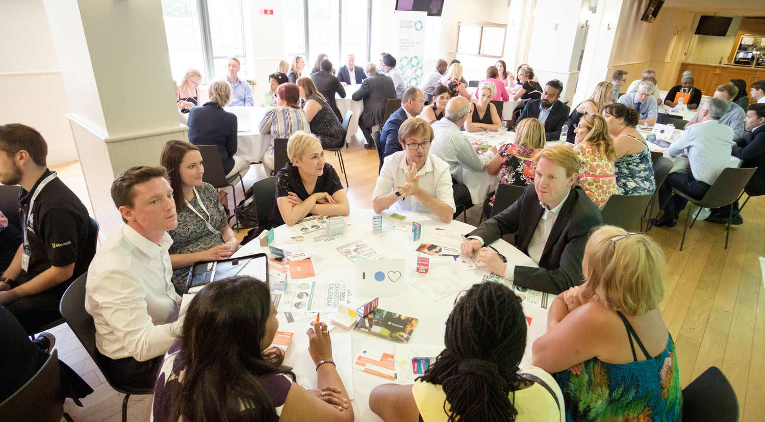 Midlands Business Network Speed Networking Event